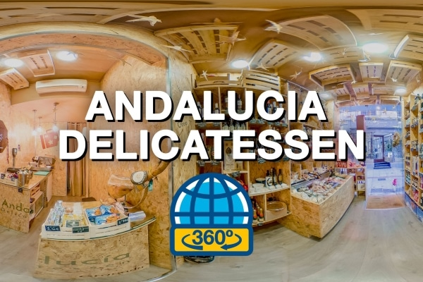 Tour virtual 360 para Andalucía Delicatessen