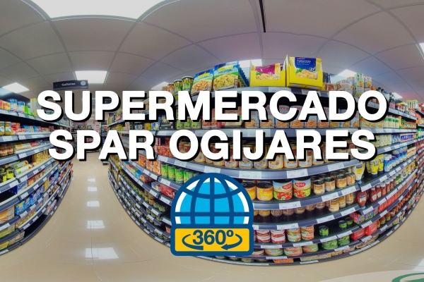 Tour Virtual 360 para supermercado SPAR