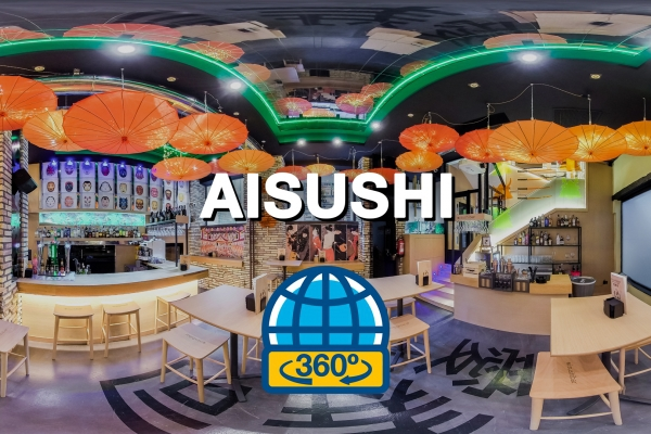 Tour Virtual para restaurante japonés Aisushi