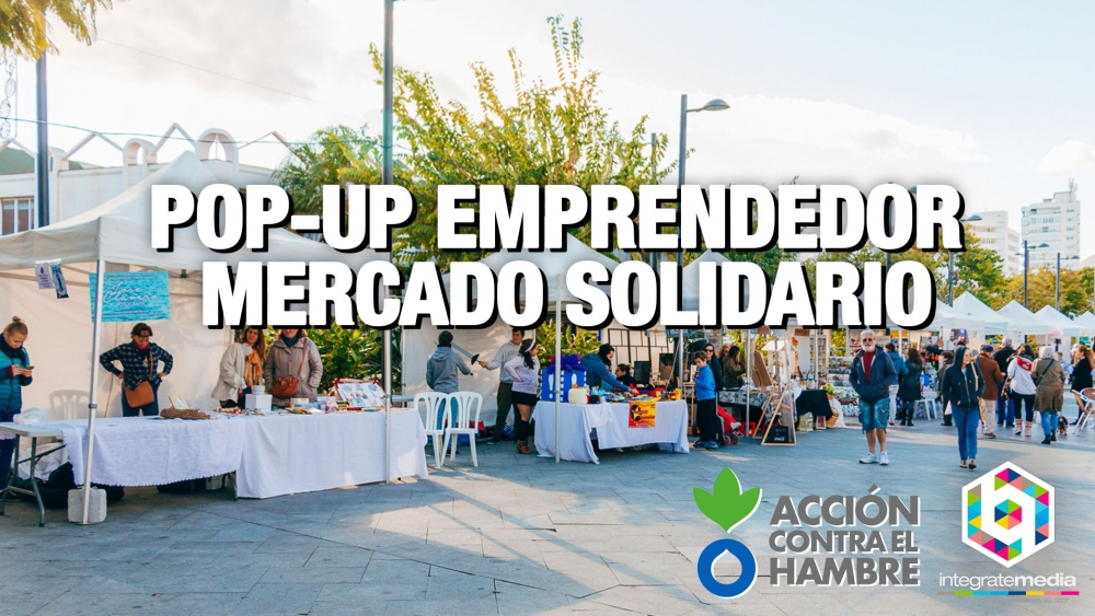 Portada Pop-Up Mercadillo Solidario